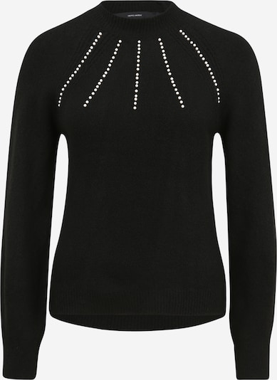 Vero Moda Petite Trui in de kleur Zwart / Parelwit, Productweergave