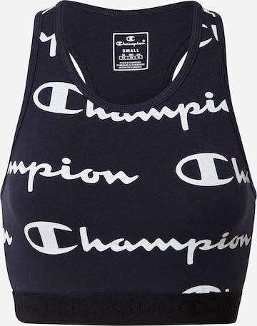 Champion Authentic Athletic Apparel Sport-BH in Blau