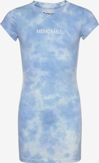 BLUE EFFECT Klänning i blå / ljusblå / vit, Produktvy