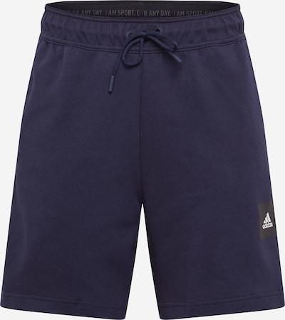 ADIDAS PERFORMANCE Pantalón deportivo en navy / negro / blanco, Vista del producto