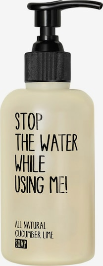 STOP THE WATER WHILE USING ME! Seife 'Cucumber Lime' in weiß, Produktansicht