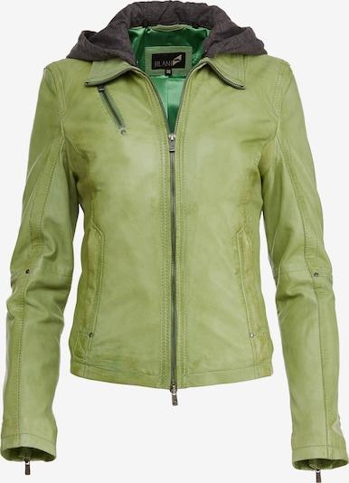 Jilani Lederjacke 'CORIN' in grün, Produktansicht