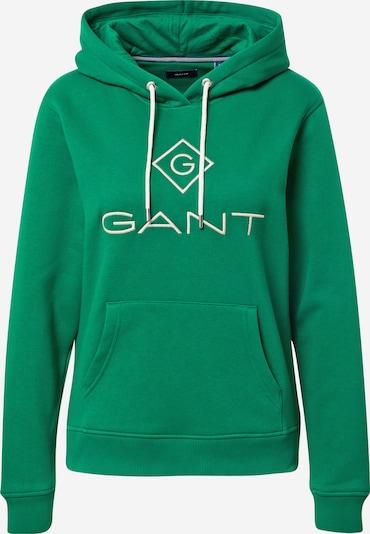 GANT Sweatshirt in grün / weiß, Produktansicht