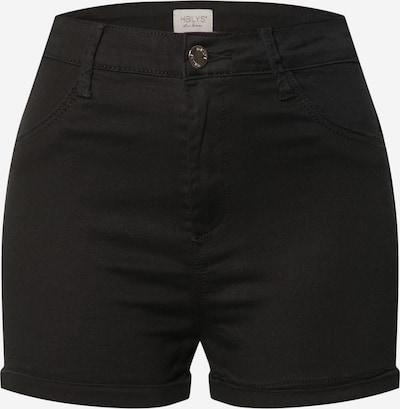 Hailys Jeans 'Pina' in de kleur Zwart, Productweergave