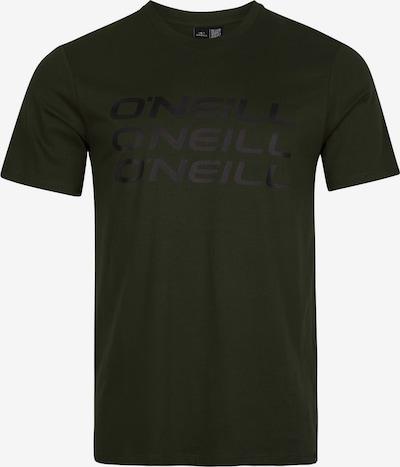 Tricou 'Triple Stack' O'NEILL pe oliv / negru, Vizualizare produs