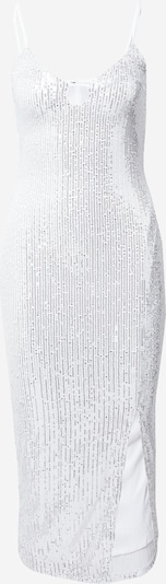 Missguided Evening dress in silver / white, Item view