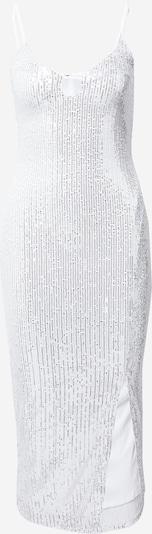 Missguided Večerné šaty - strieborná / biela, Produkt