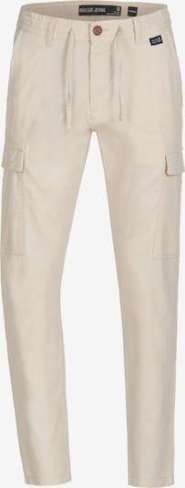 INDICODE JEANS Pantalon cargo 'Cagle' en beige: Vue de face