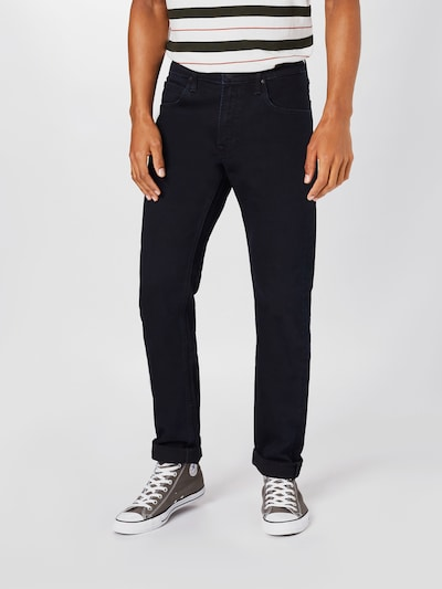 Lee Jeans 'Daren' i black denim: Frontvisning