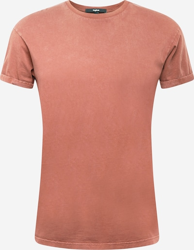 Tricou 'Zander' tigha pe roșu pastel, Vizualizare produs