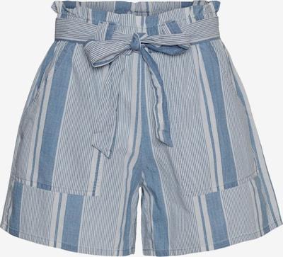 VERO MODA Spodnie 'Akela' w kolorze podpalany niebieski / białym, Podgląd produktu
