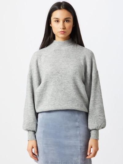 Pullover 'Simone' VERO MODA di colore grigio: Vista frontale