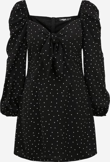 Missguided (Petite) Robe en noir / blanc, Vue avec produit