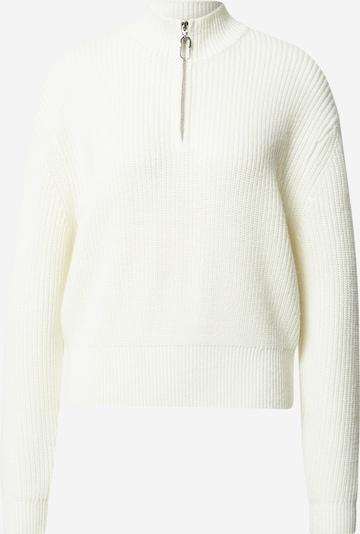 HUGO Pullover 'Syncere' in weiß, Produktansicht
