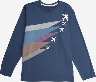 KANZ Shirt in de kleur Duifblauw / Gemengde kleuren, Productweergave