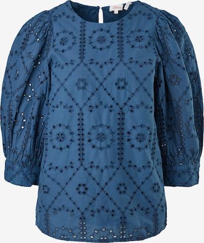 Bluză s.Oliver pe albastru, Vizualizare produs