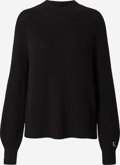 Calvin Klein Jeans Tröja 'CHEVRON' i svart, Produktvy
