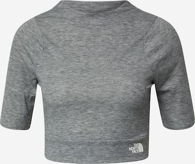THE NORTH FACE Functioneel shirt 'VYTRUE' in de kleur Grijs gemêleerd / Wit, Productweergave
