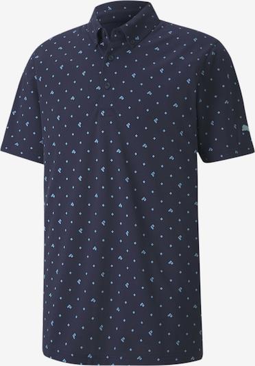 PUMA T-Shirt fonctionnel en bleu nuit / bleu clair, Vue avec produit