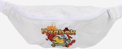 Reebok Classic Чанта за кръста в аквамарин / златистожълто / черно / бяло, Преглед на продукта