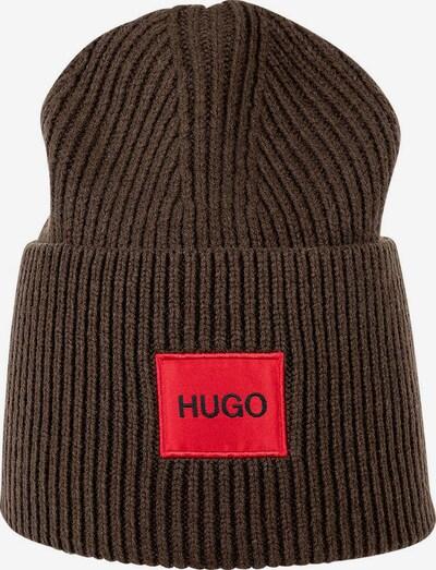 HUGO Muts in de kleur Bruin / Rood, Productweergave