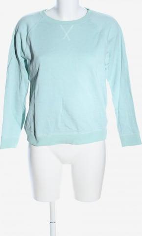 WEEKDAY Sweatshirt & Zip-Up Hoodie in S in Green