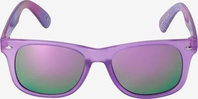 Six Lunettes de soleil en violet / mélange de couleurs, Vue avec produit