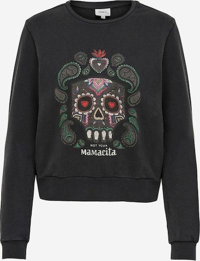 ONLY Sweatshirt in mischfarben / schwarz, Produktansicht