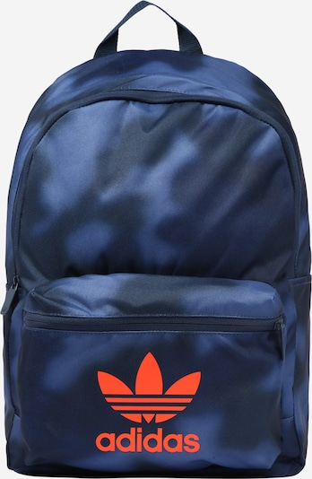 ADIDAS ORIGINALS Rucksack in blau / dunkelblau / orange, Produktansicht