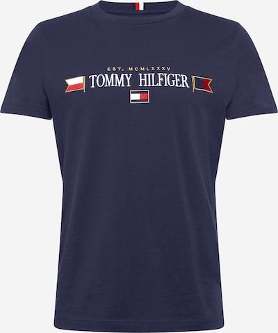 Marškinėliai iš TOMMY HILFIGER , spalva - tamsiai mėlyna / Auksas / raudona / melionų spalva / balta, Prekių apžvalga