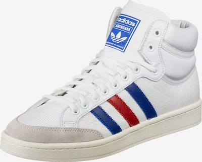 ADIDAS ORIGINALS Sneakers high in blue / light red / white, Item view