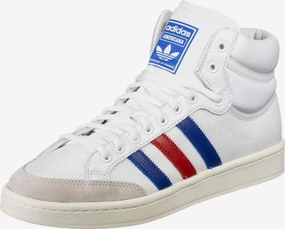 ADIDAS ORIGINALS Hög sneaker 'Americana Hi' i blå / ljusröd / vit, Produktvy