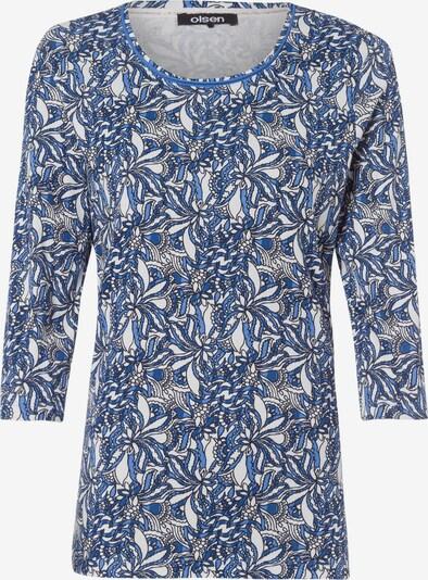 Olsen Shirt 'Edda' in blau / weiß, Produktansicht