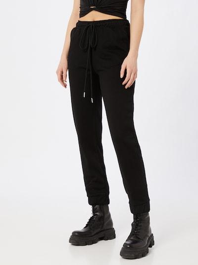 Pantaloni GLAMOROUS pe negru, Vizualizare model