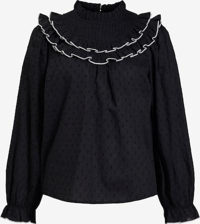 OBJECT Blus 'Stella' i svart / vit, Produktvy