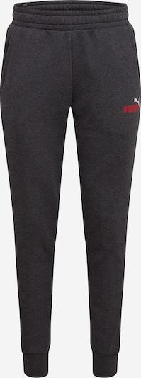 PUMA Športne hlače | antracit / rdeča / bela barva, Prikaz izdelka