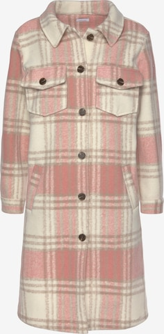 LASCANA Between-Seasons Coat in Beige