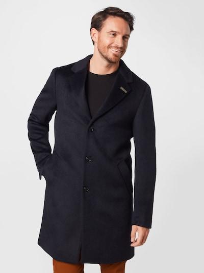 SCOTCH & SODA Manteau mi-saison en bleu nuit, Vue avec modèle