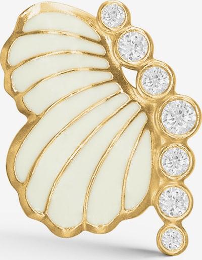 Polar Jewelry Oorbellen 'Thumbelina Earring - RIGHT' in de kleur Goud, Productweergave