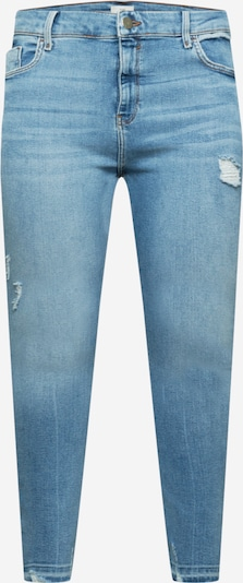 River Island Plus Jeans 'Amelie' in blue denim, Produktansicht