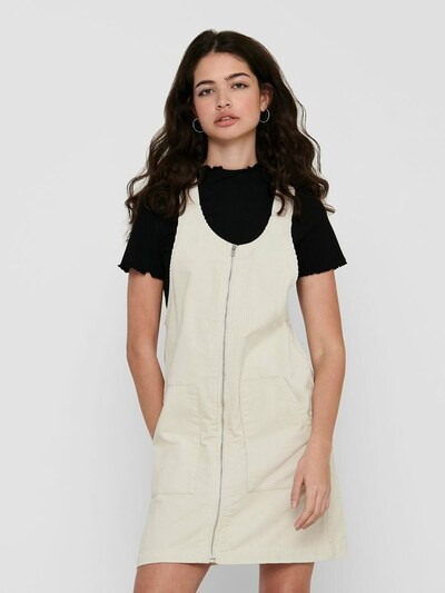 JDY Cord Kleid in wollweiß, Modelansicht
