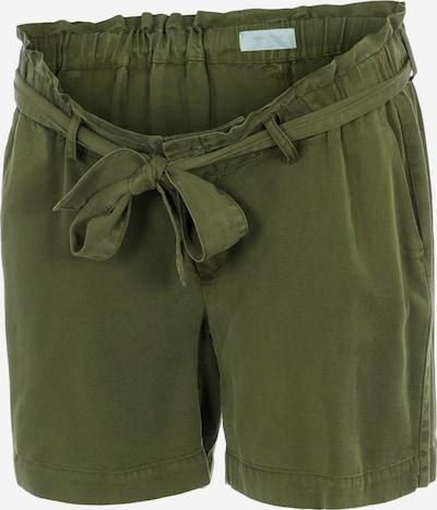 MAMALICIOUS Pantalon 'Ellena' en olive, Vue avec produit