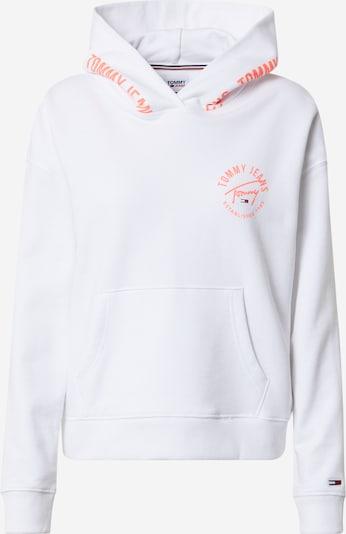 Tommy Jeans Sweatshirt in lachs / weiß, Produktansicht