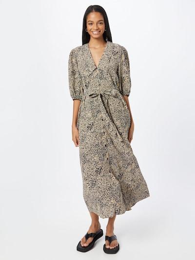 Gestuz Kleid 'Jodis' in sand / schwarz, Modelansicht