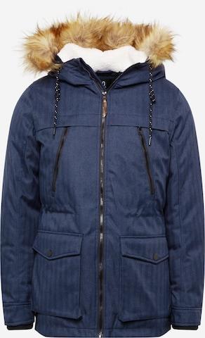 Parka d'hiver 'Boe' INDICODE en bleu