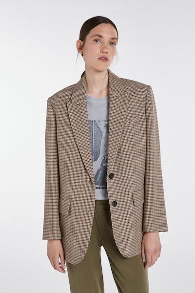 SET Blazer in beige / braun / anthrazit, Modelansicht