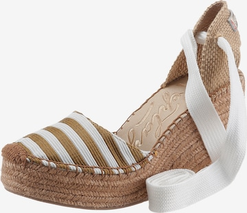 REPLAY Sandalette in Braun