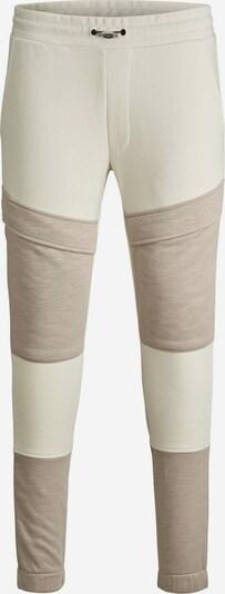 JACK & JONES Sportbroek 'Will Flame' in de kleur Crème / Camel, Productweergave