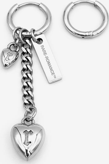 Rare-Romance Earrings 'HEART' in Grey, Item view