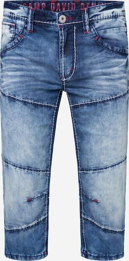 CAMP DAVID Skater Shorts 'HE:RY' in blue denim, Produktansicht